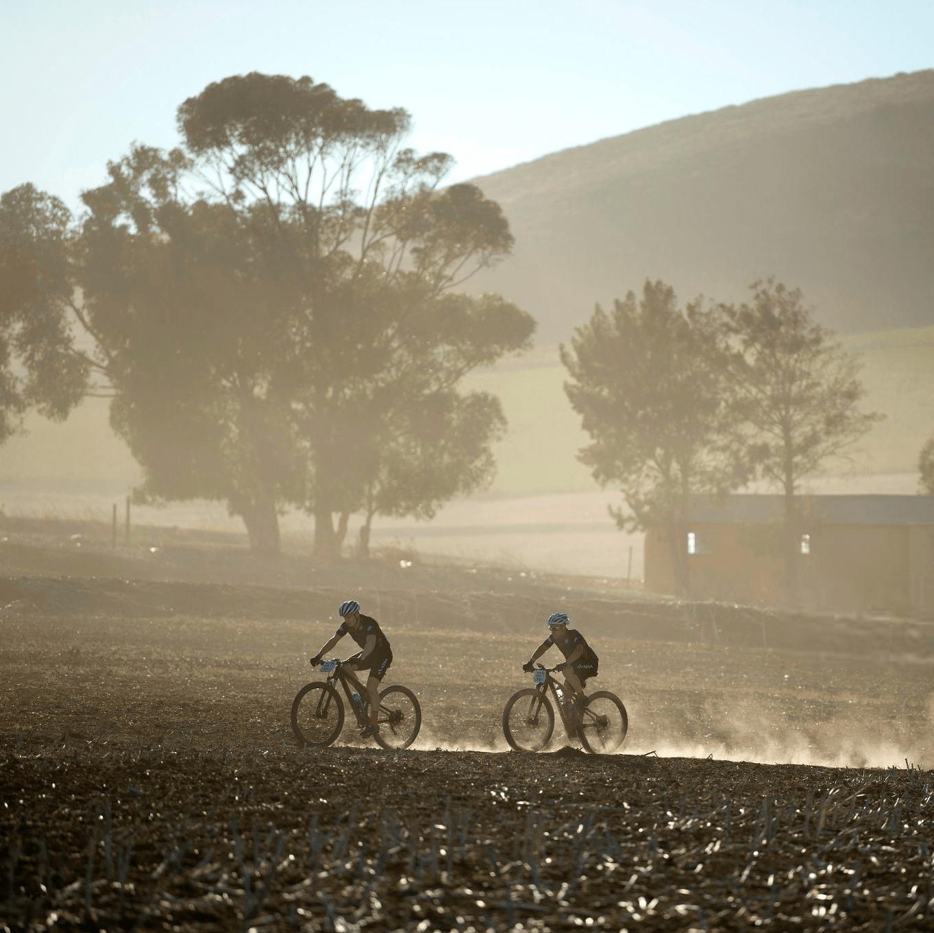 trilha de mountain bike