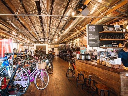 loja de bicicletas