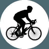 ciclista competição
