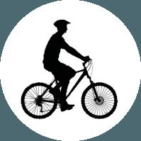 ciclista treino lazer