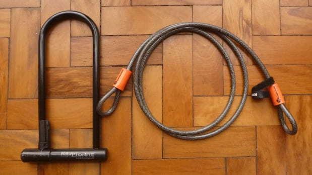 cadeados ideais para prender bikes