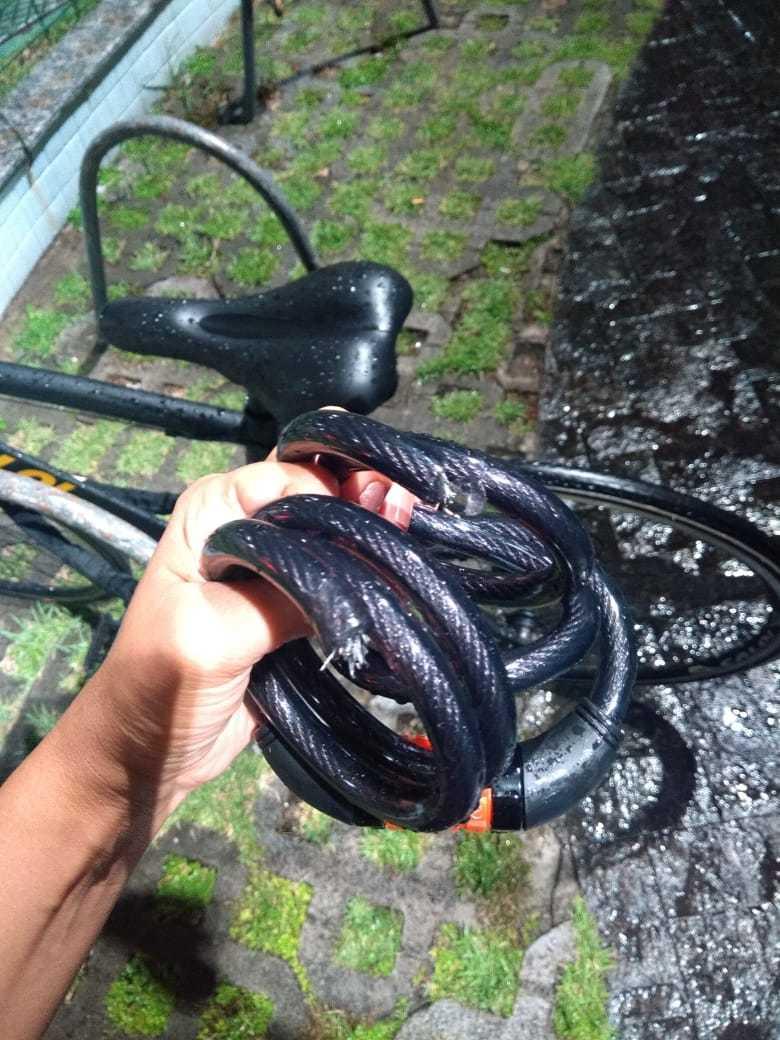 furto de bicicleta em bicicletário