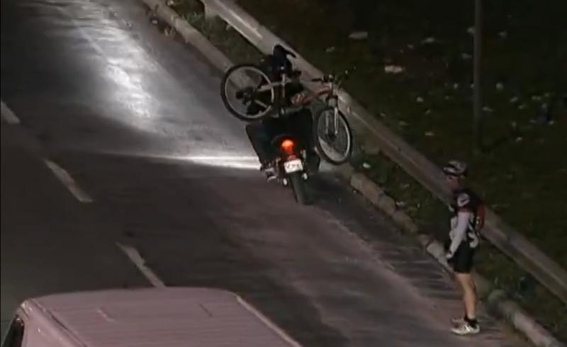 roubo de bike